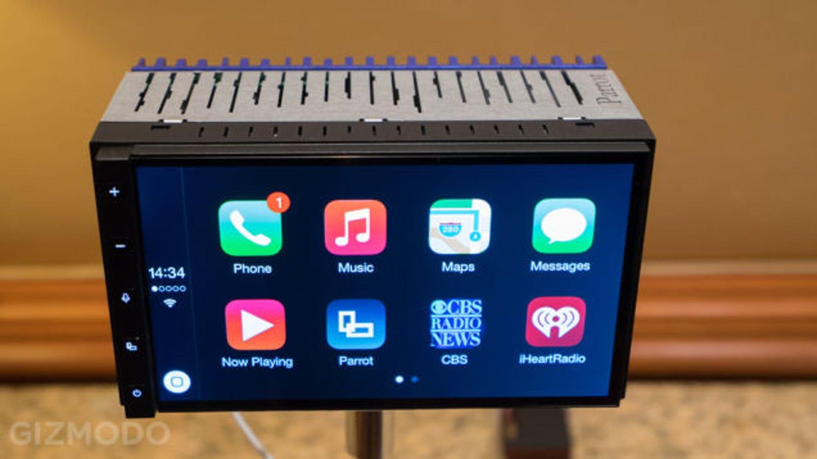 Parrot RNB6: pronto podrás escoger entre Apple y Android en tu coche