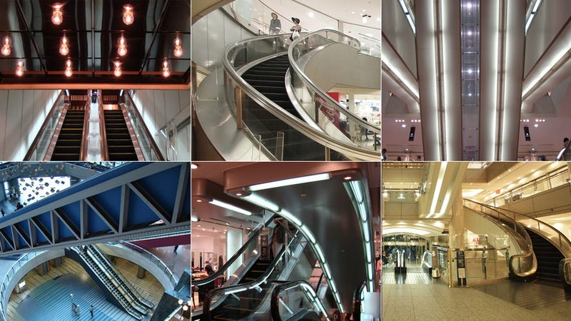 Escalators Of Tokyo: A Visual Encyclopedia Of A Cityu0027s Moving Staircases