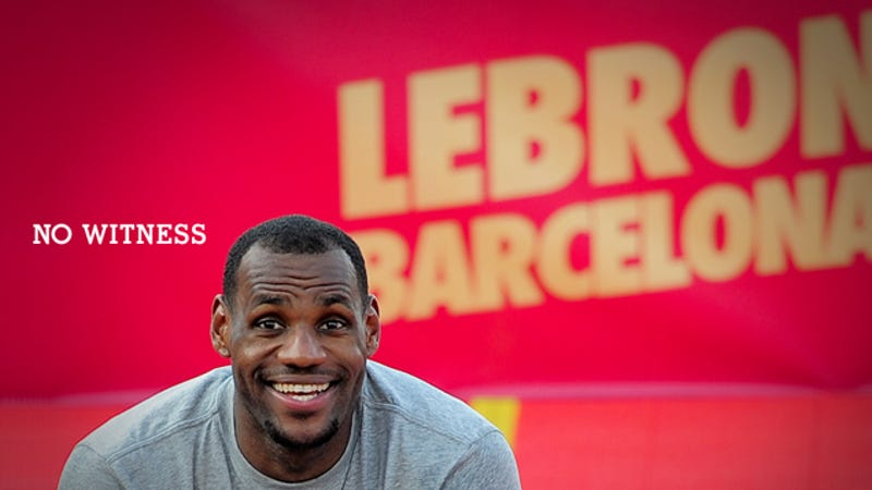 brand new 572d4 1c389 lebron james traveling in nike commercial