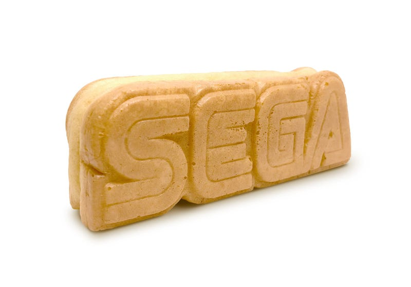 Illustration for article titled Sega Is Making Edible Logos And Selling Them In Japan