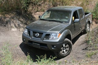 Illustration for article titled Nissan Frontier PRO4X At Play