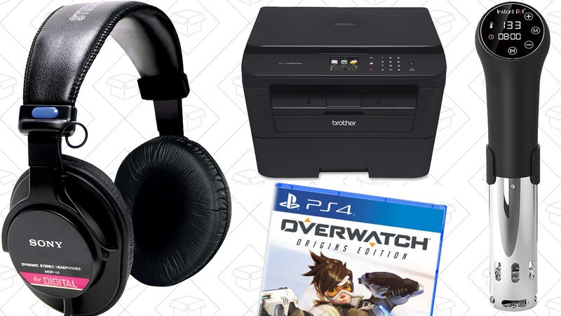 Illustration for article titled Sunday's Best Deals: Sony Headphones, Overwatch, Instant Pot Sous-Vide, and More