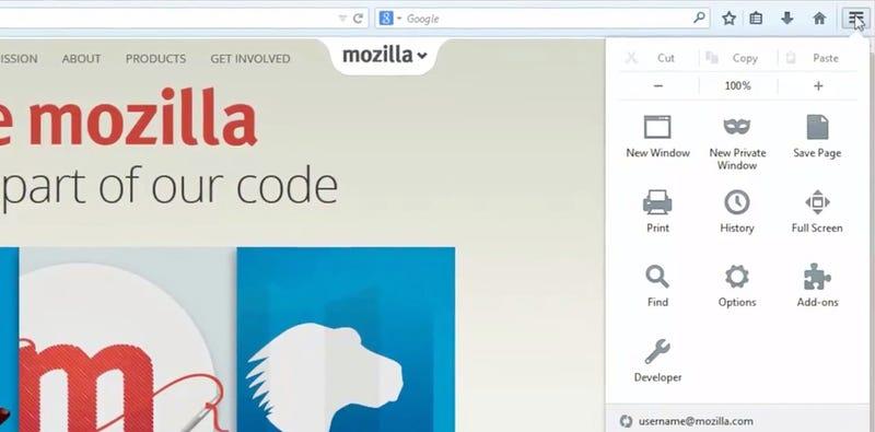 Illustration for article titled El nuevo Firefox cambia de cara y añade personalización libre
