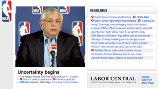 Illustration for article titled The NBA Isn't Allowed to Post Pictures of Basketball Players on Their Website