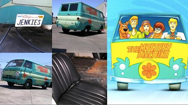 the mystery machine is for sale for 3 200 in california. Black Bedroom Furniture Sets. Home Design Ideas