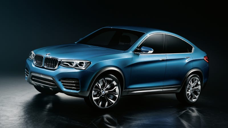 The BMW Concept X4 Is For People Who Thought X6 Was Too Roomy