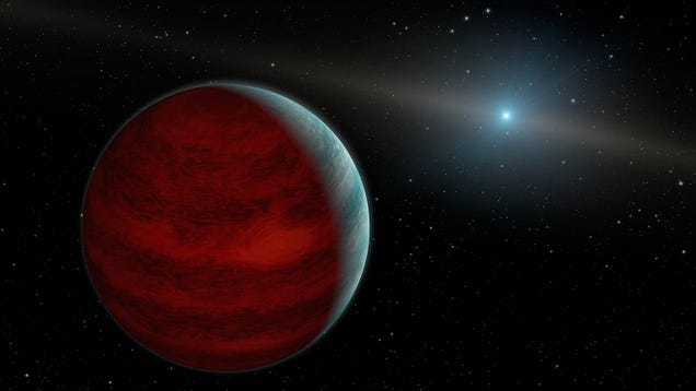 Astronomers Discover First Known Planet to Orbit a White Dwarf Star