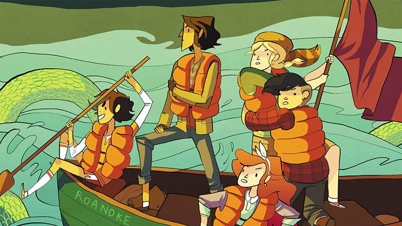 Illustration for article titled The Lumberjanes Movie Has Found Its Director