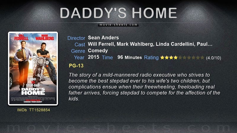 daddys home movie for free online