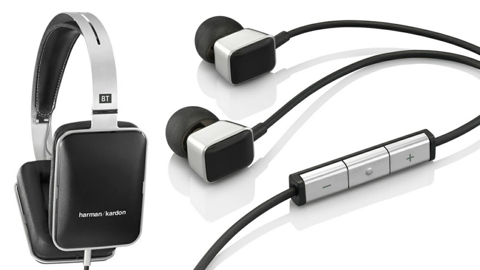 earphone covers silicone - Harman Kardon BT and AE Headphones: Minimal Naming Matches Minimal Aesthetics