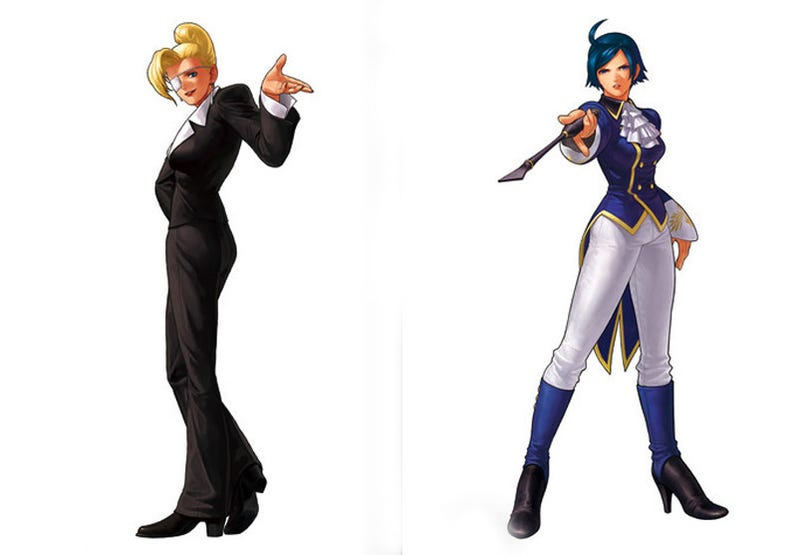 Illustration for article titled The King of Fighters XII Home Version Gets Two New Fighters