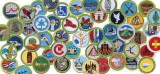 Illustration for article titled Life Merit Badges