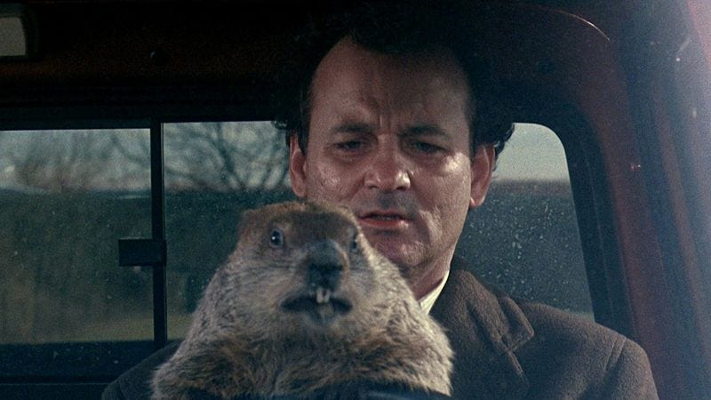 Photo: Groundhog Day