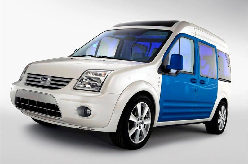 Illustration for article titled Ford Transit Connect Family One Concept: A Mini-Minivan For The Kids