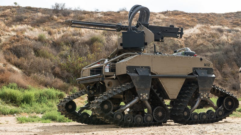 Marines test new equipment such as the Multi Utility Tactical Transport (MUTT) in a simulated combat environment at Marine Corps Base Camp Pendleton, California on July 8, 2016.