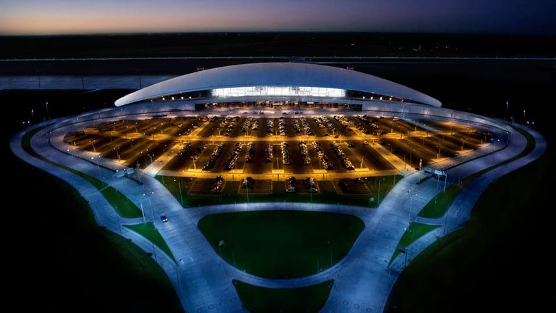 Ilration For Article Led The Ten Coolest Airports In World
