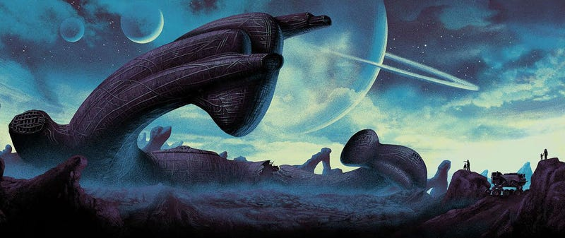 Illustration for article titled There's a Bunch of Gorgeous Alien Art Being Released For Alien Day