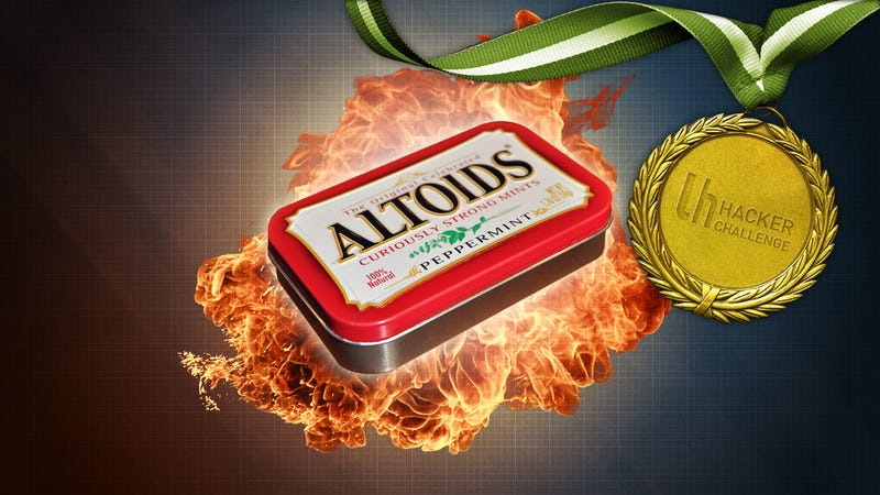 Illustration for article titled MacGyver Challenge: Hack Something With an Altoids Tin