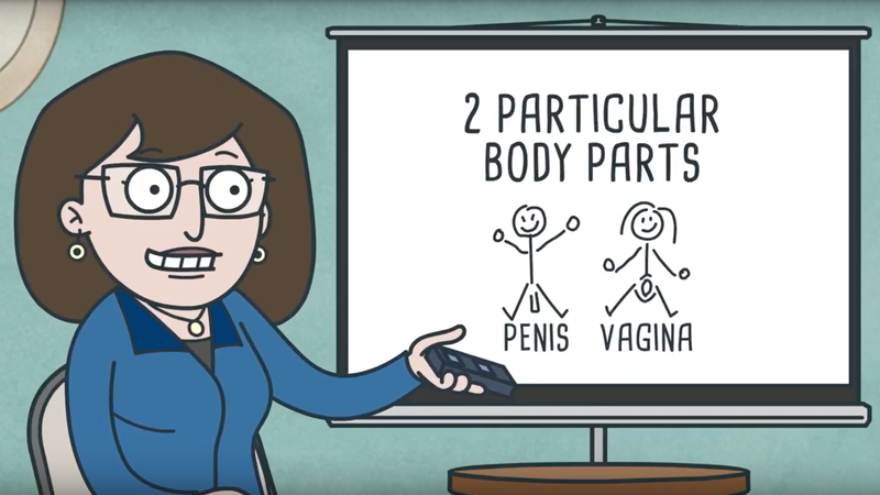 Illustration for article titled These Videos Help Parents Teach Sex Ed to Preschoolers