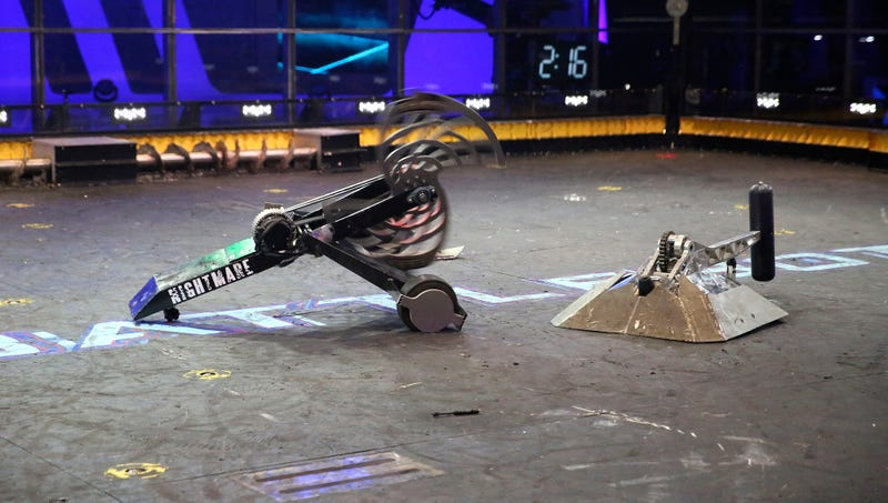 Illustration for article titled Report: 98% Of BattleBots Suffer Debilitating CPU Injuries