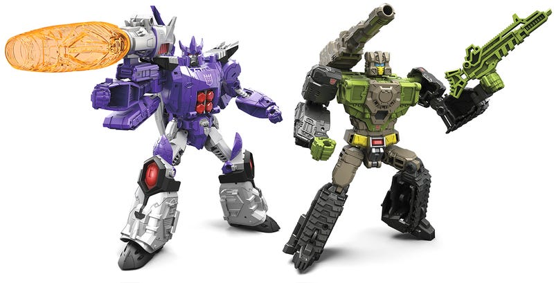 Illustration for article titled The Next Generation Of Transformers Toys Harkens Back To The Classics—With Transforming Heads