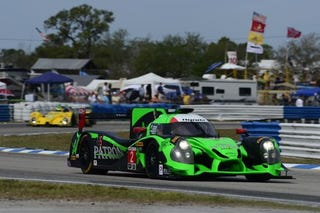 Illustration for article titled Back up to speed at Sebring...for some