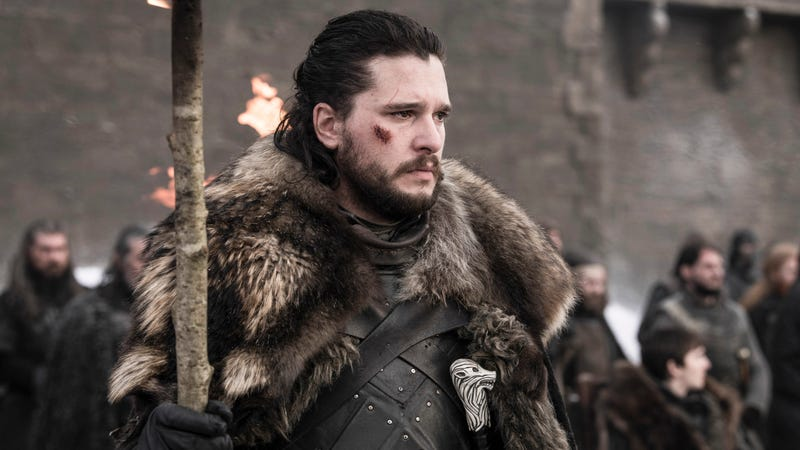 Why the long face, Jon Snow? It's not like your whole world was almost destroyed. Oh wait...