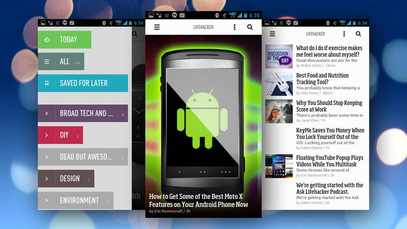 The Best News Reader Application for Android