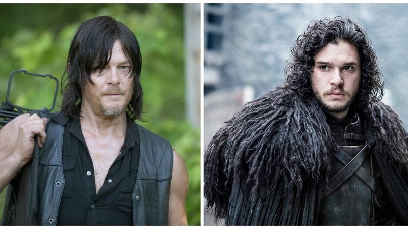 The Walking Dead / Game Of Thrones