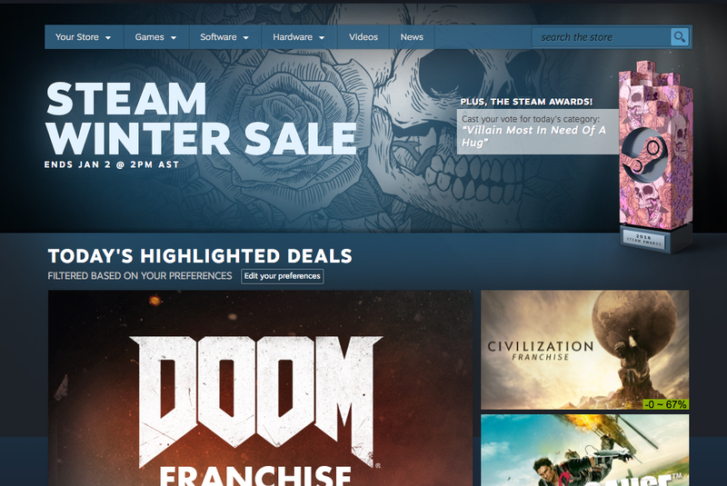 How to Get the Best Deals During This Week's Steam Sale
