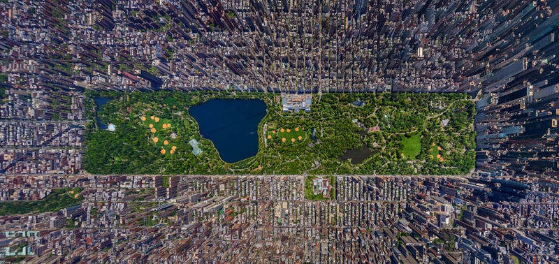 Illustration for article titled An Aerial View of Manhattan That Will Blow Your Mind