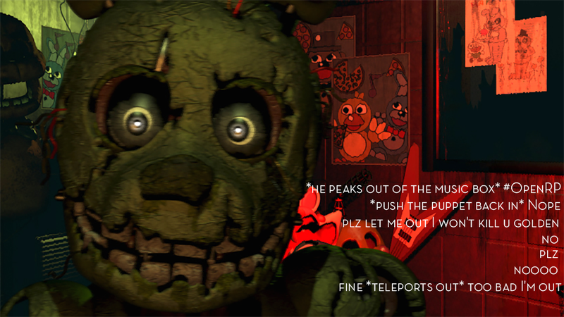 Illustration for article titled Five Nights At Freddy's Twitter Roleplay Is Scarier Than The Games