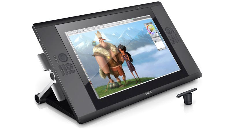 Illustration for article titled Wacom's Multitouch Cintiq Gets All Your Fingers In On the Action