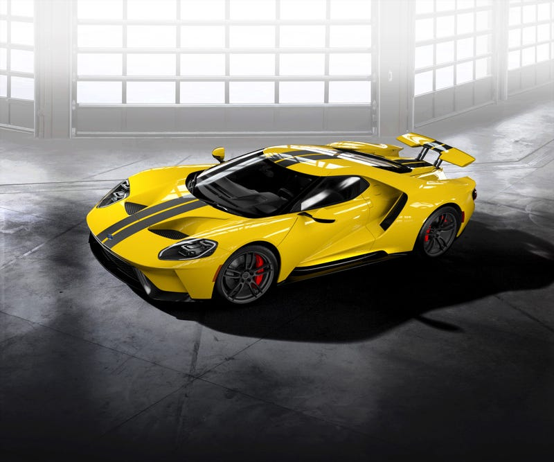 Illustration for article titled The new Ford GT configurator is up