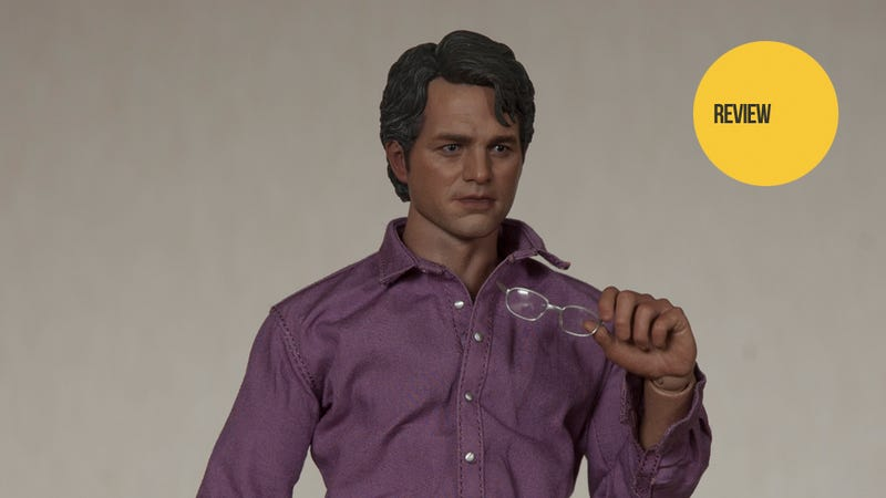 Illustration for article titled This Avengers Bruce Banner Figure Isn't Always Angry