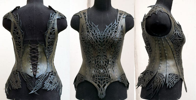 Illustration for article titled Where armor meets corset