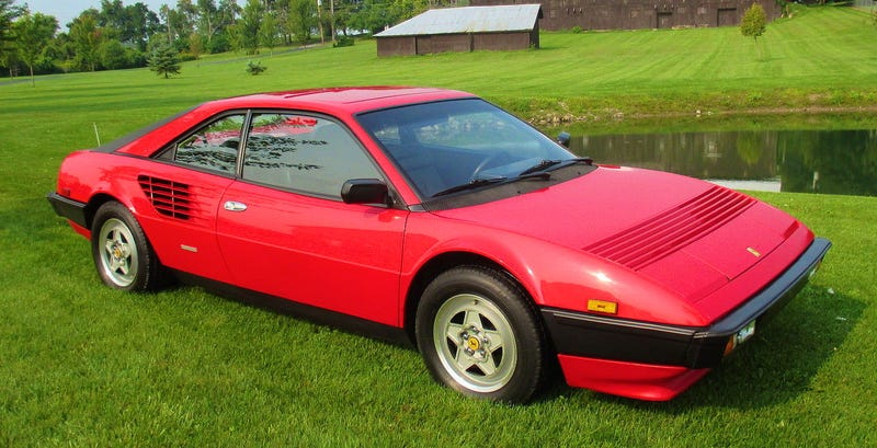 Illustration for article titled For $20,995, This 1982 Ferrari Mondial 8 Will Let You Say You Own A Ferrari