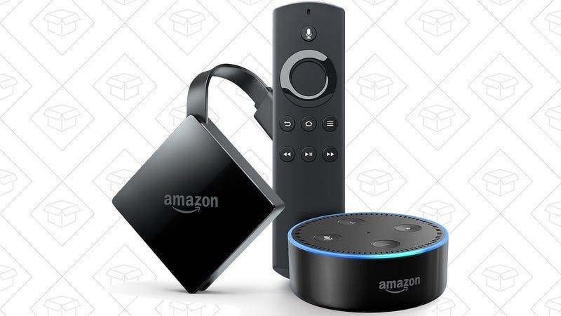 Fire TV + Echo Dot, $80