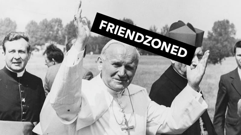 Illustration for article titled BBC Documentary Claims Pope John Paul Was Sorta in Love With a Married Woman For 30 Years