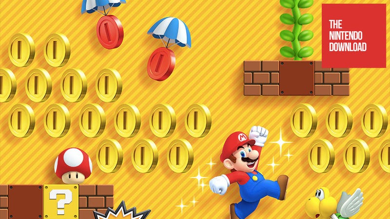 Illustration for article titled The First Fully Downloadable New Mario Game Dominates the Weekly Nintendo Download