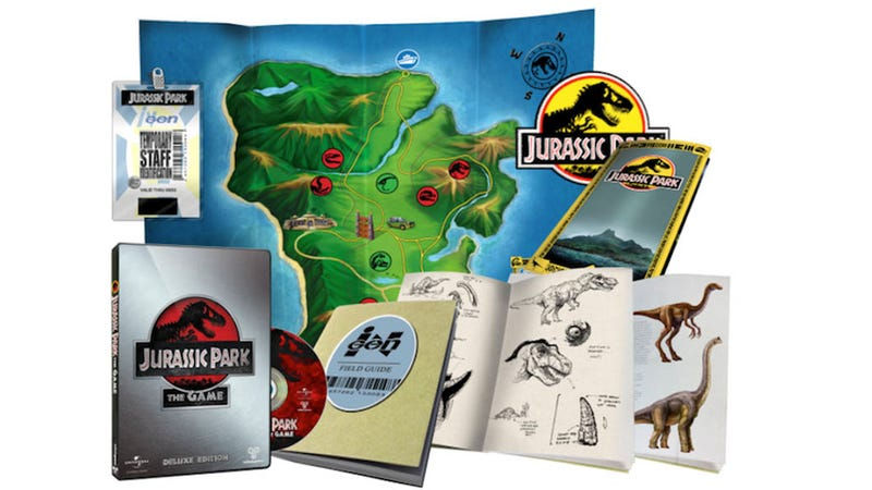 Illustration for article titled Telltale Unveils Jurassic Park: The Game's Dino-Riffic Deluxe Edition