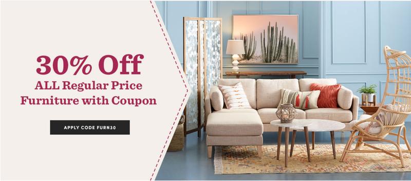 30% off Furniture | World Market | Use code FURN30