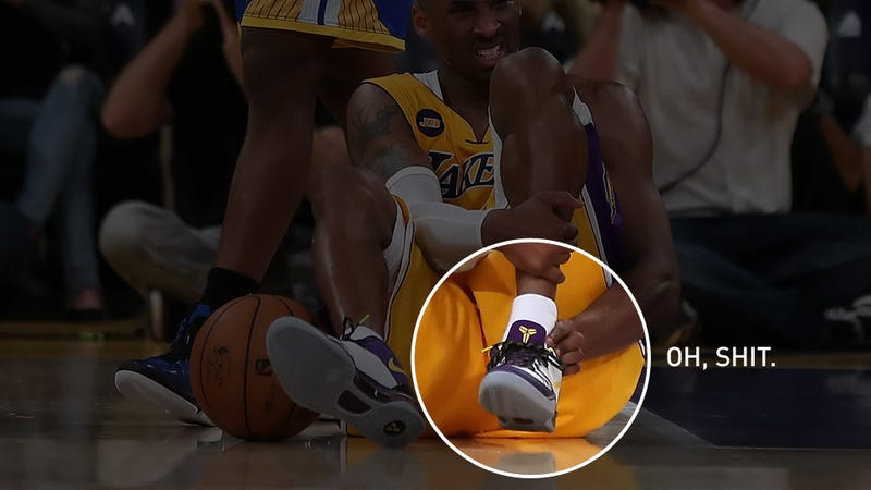 Illustration for article titled How An Achilles Tear Affects NBA Players (Or, Why Kobe Is Screwed)