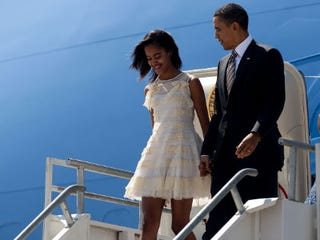 Illustration for article titled Obama Wants 'Boy Ejector' Car for Malia