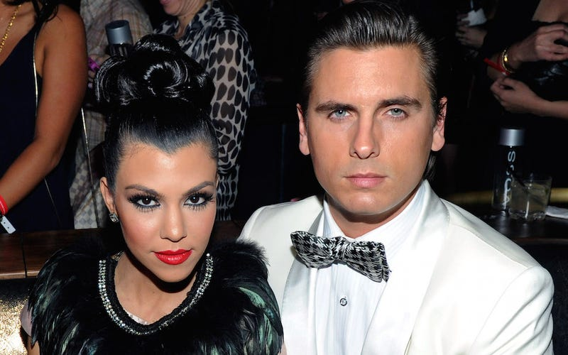 Illustration for article titled Scott Disick Might Be Cheating on Kourtney Kardashian Right Now