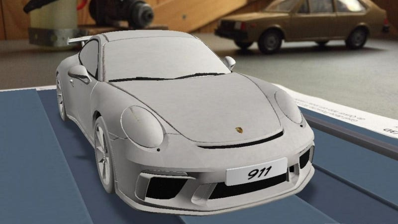 Illustration for article titled Is This The 2017 Porsche 911 GT3?