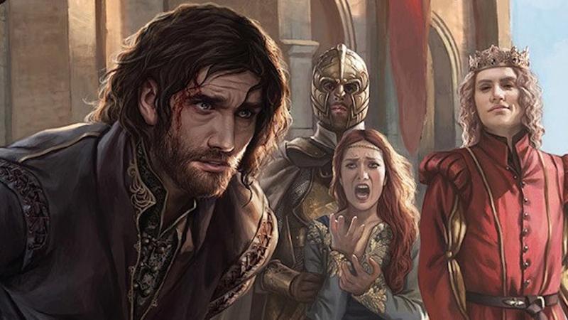 Ned Stark's execution, by Magali Villeneuve/Penguin Random House