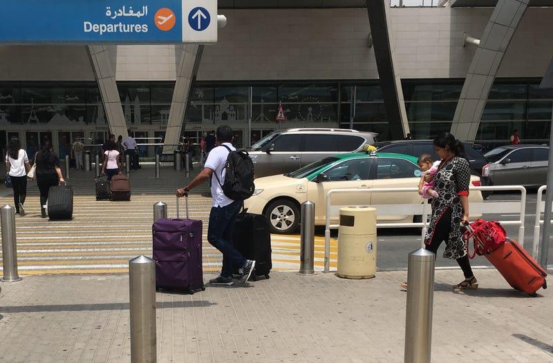 Dubai Airport (Karim Sahib/Getty Images)