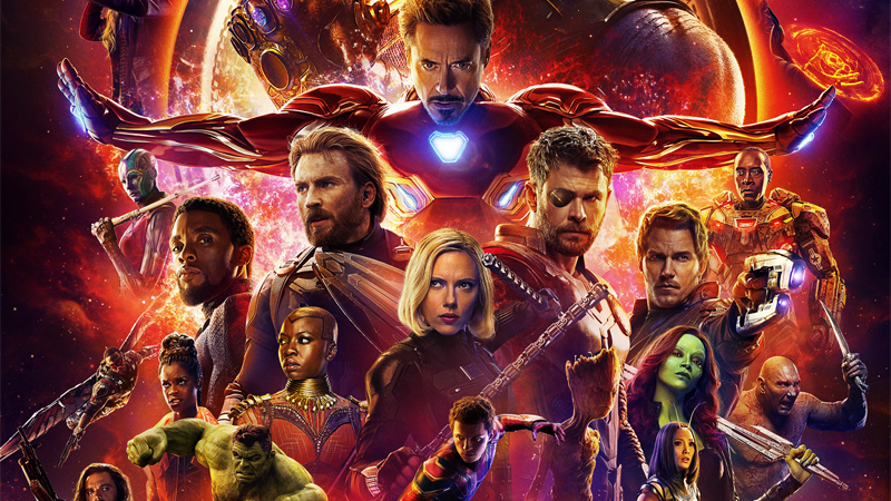 There are so many goddamn people on this poster I couldn't crop it without severing a few people, so please enjoy Bucky Barnes peeping his teeny head into this on the bottom left.