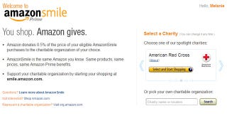 Illustration for article titled AmazonSmile Donates Part of Your Purchases to Your Favorite Charity